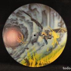 Discos de vinilo: IRON MAIDEN - FLIGHT TO ICARUS - MAXI PICTURE DISC. Lote 103918243