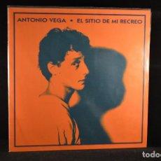 Discos de vinilo: ANTONIO VEGA - EL SITIO DE MI RECREO - LP. Lote 103919031