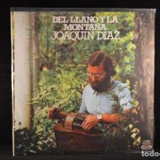 Discos de vinilo: JOAQUIN DIAZ - DEL LLANO Y LA MONTAÑA - LP. Lote 103919271