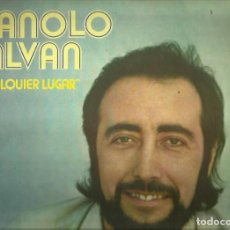 Discos de vinilo: MANOLO GALVAN. LP. SELLO ARIOLA. EDITADO EN ESPAÑA. AÑO 1974. Lote 103925335