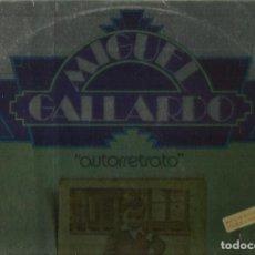 Discos de vinilo: MIGUEL GALLARDO. LP PROMOCIONAL. SELLO EMI HARVEST. EDITADO EN ESPAÑA. AÑO 1975. Lote 103925571