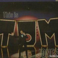 Discos de vinilo: TOM JONES. LP. SELLO DECCA. EDITADO EN INGLATERRA. Lote 103929391