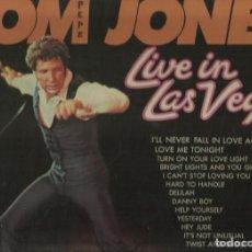 Discos de vinilo: TOM JONES. LP. SELLO DECCA. EDITADO EN INGLATERRA. Lote 103929491