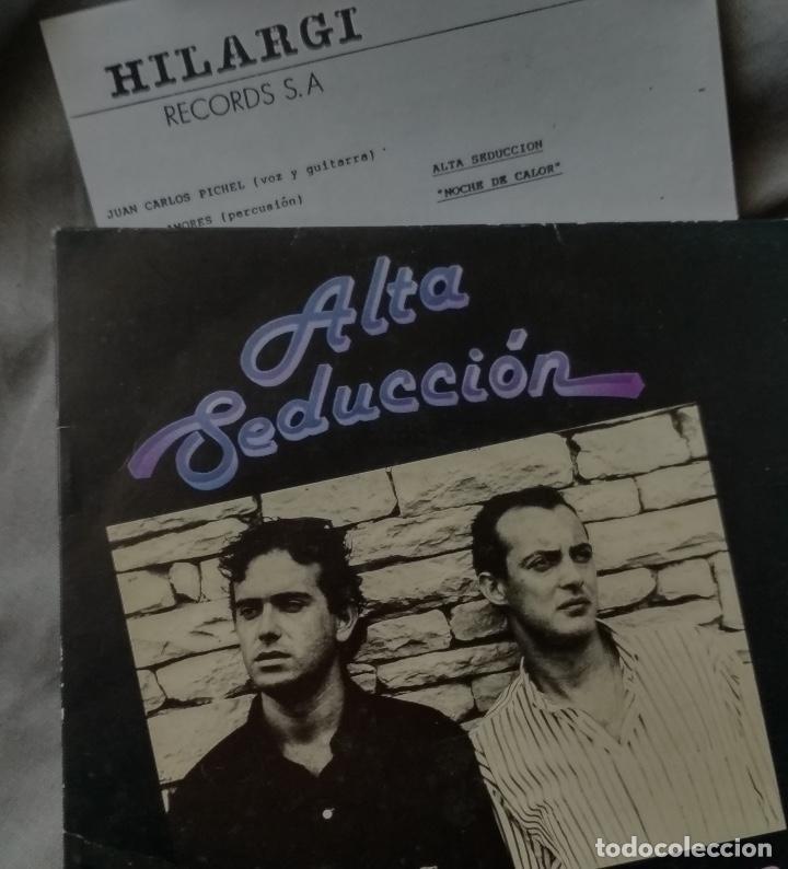 ALTA SEDUCCION - NOCHE DE CALOR. PROMO SG 1990 (Música - Discos - Singles Vinilo - Grupos Españoles de los 90 a la actualidad)