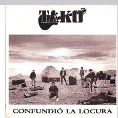Discos de vinilo: TAKO - CONFUNDIO LA LOCURA. SG 1991. Lote 103938451