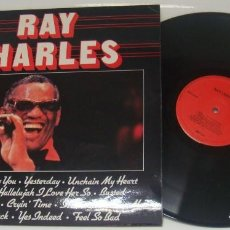 Discos de vinilo: LP - RAY CHARLES - MADE IN ENGLAND - RAY CHARLES. Lote 103943683