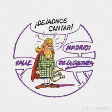 Discos de vinilo: VARIOS (SABINA, MORENTE, ROSENDO, WYOMING ETC) - DEJADNOS CANTAR. SINGLE PROMO 1990. Lote 103943871