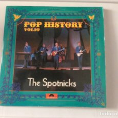 Discos de vinilo: THE SPOTNICKS, POP HISTORY VOL 10. DOBLE LP. Lote 103943988