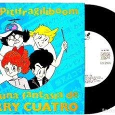 Discos de vinilo: TERRY CUATRO - CHIRIPITIFRAGILIBOOM. SINGLE PROMOCIONAL 1991. Lote 103945923