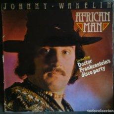 Discos de vinilo: JOHNNY WAKELIN – AFRICAN MAN LP 1977 DISCO . Lote 103949659