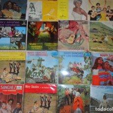 Discos de vinilo: MARY SANCHEZ Y LOS BANDAMA COLECCION DE 18 EP'S . Lote 103951595