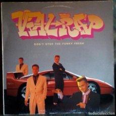 Discos de vinilo: VIAL RAP – DON'T STOP THE FUNKY FRESH LP 1990 RAPIN' MADRID. Lote 103953843