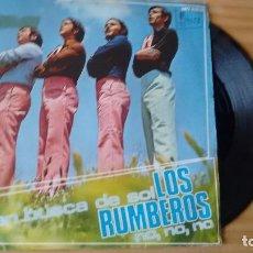 Discos de vinilo: SINGLE (VINILO) DE LOS RUMBEROS AÑOS 70. Lote 103956719
