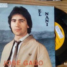 Discos de vinilo: SINGLE (VINILO) DE JOSE GAGO AÑOS 80. Lote 103956979