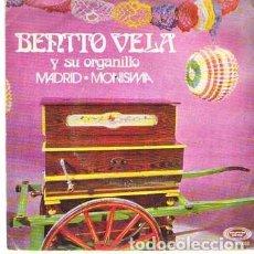 Discos de vinilo: DISCOS (BENITO VELA Y SU ORGANILLO). Lote 103963815