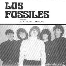 Discos de vinilo: LOS FOSSILES - NENA SINGLE 1990. Lote 103971427