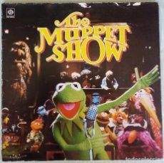 Discos de vinilo: THE MUPPET SHOW. EL SHOW DE LOS TELEÑECOS. LP VINILO. 1977.. Lote 103971979