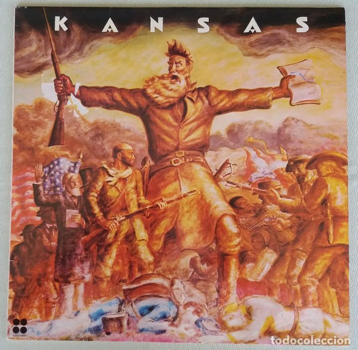 KANSAS. LP VINILO. (Música - Discos - LP Vinilo - Pop - Rock - Extranjero de los 70)