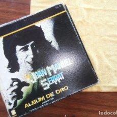 Dischi in vinile: JOAN MANUEL SERRAT ALBUM DE ORO 4 DISCOS. Lote 103973903