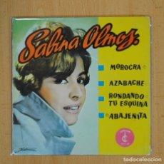 Discos de vinilo: SABINA OLMOS - CANCIONES ARGENTINAS - MOROCHO + 3 - EP. Lote 103974280