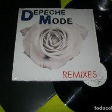 Discos de vinilo: DEPECHE MODE - REMIXES.. 2 LP´S - PRINTED IN THE EU - EDICION 2006 - - UNICO - NUEVO. Lote 103975071