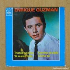 Discos de vinilo: ENRIQUE GUZMAN - TRISTES NOCHES + 3 - EP. Lote 103975794