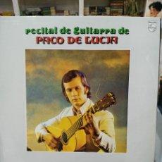 Discos de vinilo: PACO DE LUCÍA - RECITAL DE GUITARRA DE PACO DE LUCÍA - LP. DEL SELLO PHILIPS DE 1975. Lote 103976703