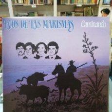 Discos de vinilo: ECOS DE LAS MARISMAS - CAMINANDO - LP. DEL SELLO FONOMUSIC DE 1985. Lote 103977167