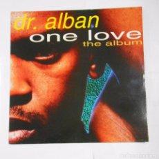Discos de vinilo: DR. ALBAN. ONE LOVE. THE ALBUM. TDKLP. Lote 103978507