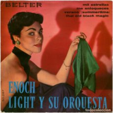 Discos de vinilo: ENOCH LIGHT Y SU ORQUESTA ‎– THAT OLD BLACK MAGIC - EP SPAIN 1960 - BELTER 50.287 . Lote 103978963