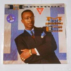 Discos de vinilo: MC HAMMER. PLEASE HAMMER DON'T HURT 'EM. TDKDA8. Lote 103980187