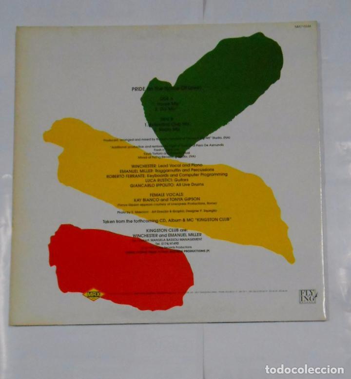 Discos de vinilo: KINGSTON CLUB. PRIDE (IN THE NAME OF LOVE). TDKDA8 - Foto 2 - 103980915