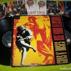 Discos de vinilo: GUNS N´ ROSES - USE YOUR ILLUSION I . EDICION ORIGINAL ESPAÑOLA DE 1991. . 2 LP´S GEFFEN. Lote 103984123