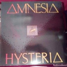 Discos de vinilo: AMNESIA - HYSTERIA LP BCM RECORDS. Lote 103984699