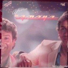 Discos de vinilo: LOS AMAYA AHORA LP 1983 ARIOLA EDICION ESPAÑOLA SPAIN. Lote 103985863