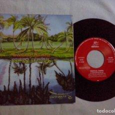Discos de vinilo: MUSICA SINGLE: TROPICAL SAMBA - LAGRIMAS NEGRAS / EL PANTALON SE ME CAE ( ABLN). Lote 103988055