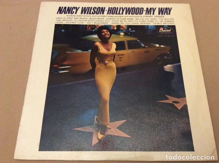 NANCY WILSON. HOLLYWOOD. MY WAY. CAPITOL. 1963. ED FRANCESA. (Música - Discos - LP Vinilo - Jazz, Jazz-Rock, Blues y R&B)