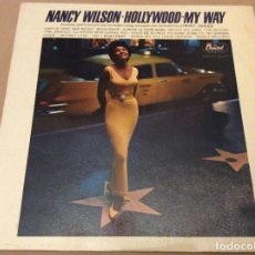 Discos de vinilo: NANCY WILSON. HOLLYWOOD. MY WAY. CAPITOL. 1963. ED FRANCESA.. Lote 103992187