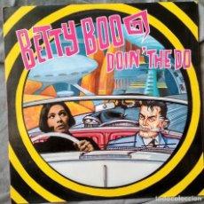 Discos de vinilo: BETTY BOO - DOIN' THE DO. MAXI-SINGLE. Lote 104010627