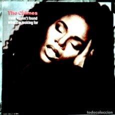 Discos de vinilo: THE CHIMES - I STILL HAVEN'T FOUND WHAT I'M LOOKING FO. MAXI-SINGLE PROMOCIONAL 1991. Lote 104015883
