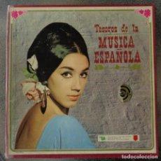 Discos de vinilo: TESOROS DE LA MUSICA ESPAÑOLA. CARPETA 12 LP'S VINILO. SELECCIONES DEL READER'S DIGEST. Lote 104016843