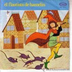 Discos de vinilo: EL FLAUTISTA DE HAMELIN - SINGLE MOVIEPLAY 1972. Lote 104017907