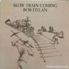 Discos de vinilo: BOB DYLAN - SLOW TRAIN COMING - LP VINILO. Lote 104023511