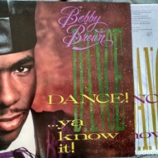 Discos de vinilo: BOBBY BROWN - DANCE...YA KNOW IT! LP 1989. Lote 104026259