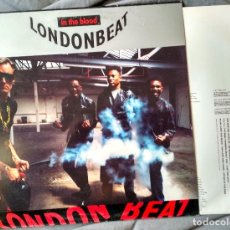 Discos de vinilo: LONDONBEAT - IN THE BLOOD. LP 1991.. Lote 104027751