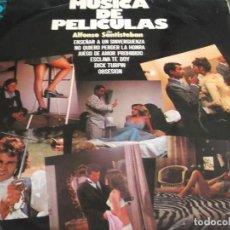 Discos de vinilo: ALFONSO SANTISTEBAN -MUSICA DE PELICULAS EDICION ORIG 1976. Lote 104030323