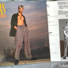 Discos de vinilo: TASHAN - ON THE HORIZON. LP 1989 PROMOCIONAL. Lote 104030915