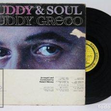 Discos de vinilo: LP VINILO DE SOUL - BUDDY GRECO / BUDDY & SOUL - EPIC. Lote 104031763