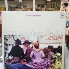 Discos de vinilo: LOS PANADEROS - RESURRECCIÓN EN SEVILLA - SEVILLANAS - LP. DEL SELLO CBS DE 1972 . Lote 104032407