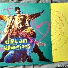 Discos de vinilo: DREAM WARRIORS - AND THE LEGACY BEGINS.LP 1991. Lote 144762076
